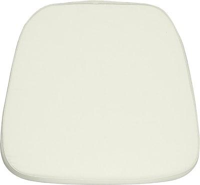 Flash Furniture Soft Fabric Chiavari Chair Cushion, Ivory