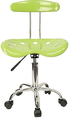 Flash Furniture Vibrant Computer Task Chair with Tractor Seat, Apple Green 201280