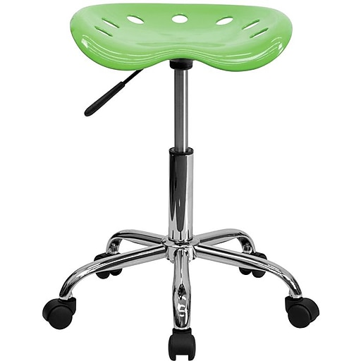 """Flash Furniture 25.75"""" Vibrant Tractor Stool, Apple Green (LF214AAPLGN)"""