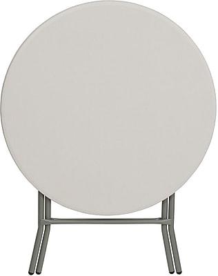 Flash Furniture 31.5Dia Folding Table, White (RB32RGW)