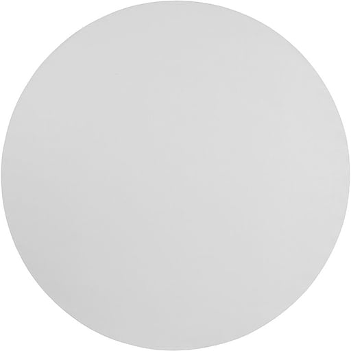 "Flash Furniture 72""Dia. Folding Table, Granite White, 10/Pack (10RB72R)"