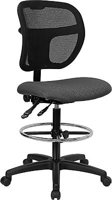 Flash Furniture Mid Back Multi Functional Mesh Drafting