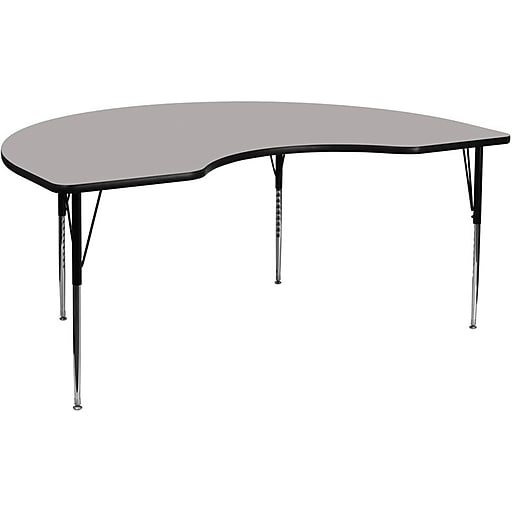 Flash Furniture Kidney Activity Table, Gray (XUA4896KIDGYHA)