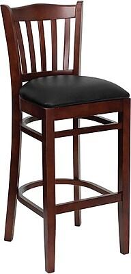 Flash Furniture xUW08BARMAHBKV Chair Type: Bar Stool, Black