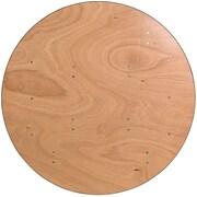 "Flash Furniture 48"" Dia. Folding Banquet Table, Brown (YTWRFT48TBL)"