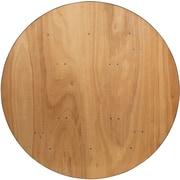 "Flash Furniture 60""Dia. Folding Banquet Table, Brown (YTWRFT60TBL)"