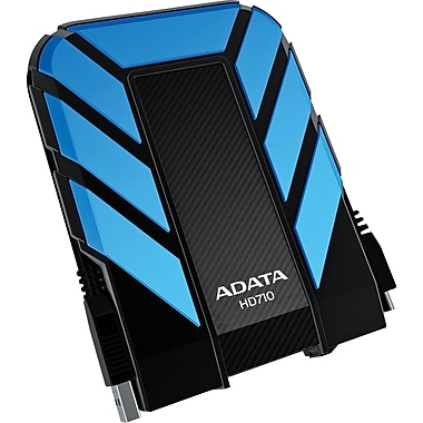 ADATA DashDrive™ Durable 1TB Waterproof/Shock-Resistant USB 3.0 External Hard Drive
