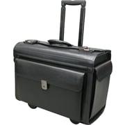 "Nextech 15.6"" Rolling Leather Catalogue Case, Black"