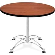 "OFM 29 1/2"" x 36"" x 36"" Round Laminate Multi-Purpose Table, Cherry"