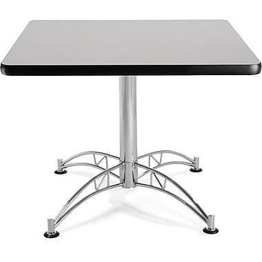 OFM – Table ronde multiusage stratifiée, 29 1/2 x 36 x 36 po, gris nébuleux (811588017621)