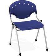 OFM Rico 4-Pack Polypropylene Stack Chair, Navy (305-4PK-P46)