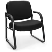 OFM Steel Guest/Reception Chair with Arms, Black (407-805)