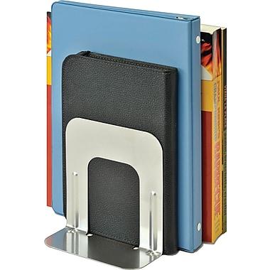 SteelMaster® - Appuie-livres économiques, 5 po, argent