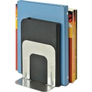 "SteelMaster® Economy Bookends, 5"", Silver"