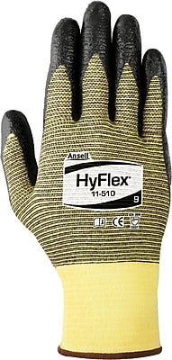 Ansell HyFlex® Cut Resistant Gloves, DuPont™ Kevlar® with zonal nylon plaiting, Nitrile Gloves, XX-Large (11), 12/Pair