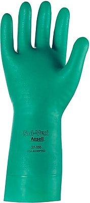 Ansell Sol-Vex® 37-155 Nitrile Gloves, Size Group 8