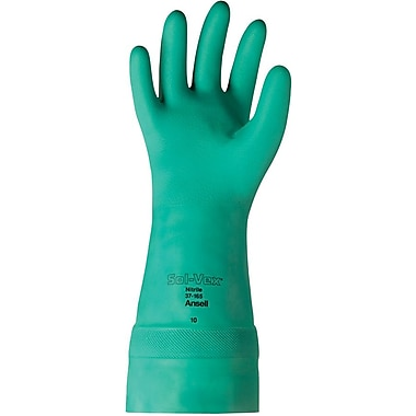 Ansell Sol-Vex® 37-165 Nitrile Gloves, Size Group 8