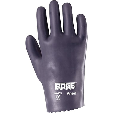 Ansell Edge® 40-105 Nitrile Knit-Lined Gloves, Slip-on, Size Group 10