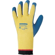 Ansell 80-600 DuPont™ Kevlar®/Natural Rubber Blue/Yellow Latex Cut Resistant Gloves, Size Group 8