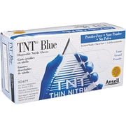 Ansell TNT® 92-675 Nitrile Powder Free Disposable Gloves, Large