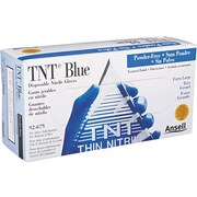Ansell TNT® 92-675 Nitrile Powder Free Disposable Gloves, XL