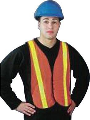 North Safety® TV55RS Hi-Viz Omni-Brite™ Reflective Vest, One Size Fits All