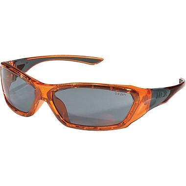 MCR Safety® ForceFlex® FF132 ANSI Z87 Protective Eyewear, Gray/Translucent Orange
