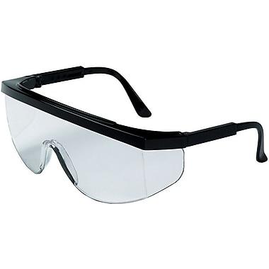 MCR Safety® Tomahawk® TK110 ANSI Z87 Protective Eyewear, Clear/Black