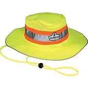 Ergodyne® GloWear® 8935 Hi-Vis Ranger Hats, Large/XL, Lime