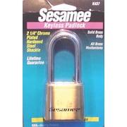 Sesamee® K0437 Keyless Padlock, Brass
