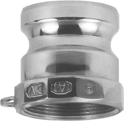 Dixon™ Valve 150 Stainless Steel Type A Boss-Lock Adapter, 1 1/2