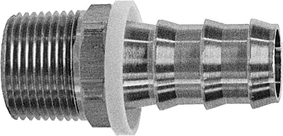 Dixon™ Valve BPN22 Brass Push-On Hose Fitting, 1/4