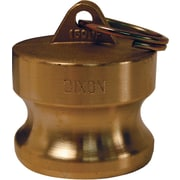 "Dixon™ Valve G300 Forged Brass Type DP Global Dust Plug, 3"" Male Quick"