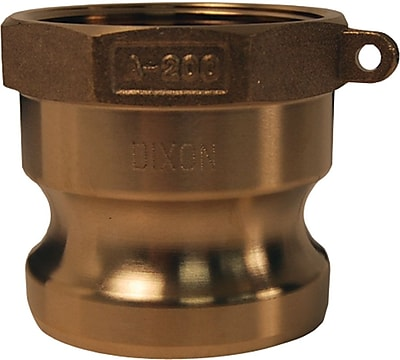 Dixon™ Valve G400 Forged Brass Type A Global Adapter, 4