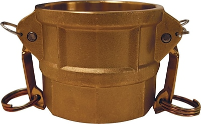 Dixon™ Valve G400 Forged Brass Type D Global Coupler, 4