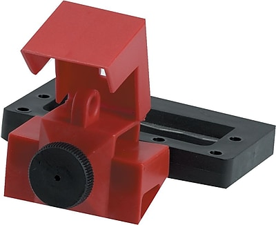 Brady® 65321 Oversized Breaker Lockout, Red