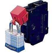 Brady® 65965 Clamp-On Breaker Lockout, Red, 277 V, 6/Pack