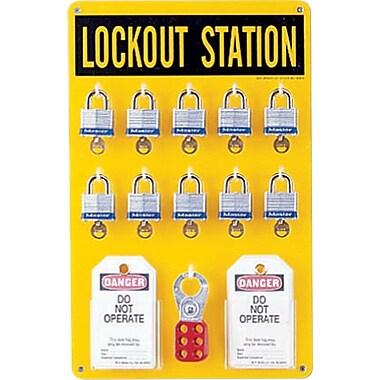 Brady® 65680 Ten Lock Station
