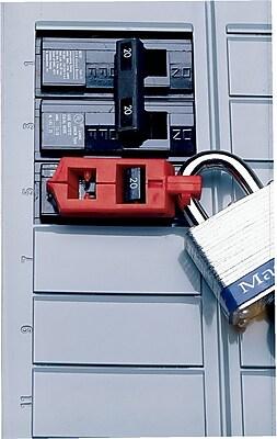 Brady® 65688 Snap-On Breaker Lockout, Red