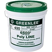 Greenlee® Spiral Wrap Poly Line, 6500' (L)