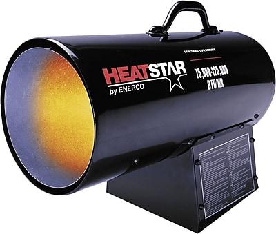 Enerco HS125 Portable Forced Air Heater, 75000 Btu/h - 125000 Btu/h