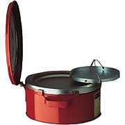 Justrite® 10370 Red Bench Can, 1 gal