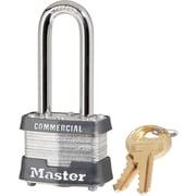 "Master Lock® 3DLHCOM 2""(H) Laminated Steel Pin Tumbler Padlock, 4 Pin, 4/Pack"