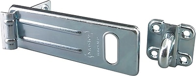 Master Lock® 706D Hasp and Hasplock, 9/16