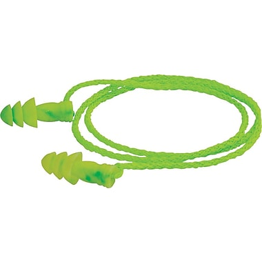 Moldex® JETZ® Corded NRR 27 db Reusable Ear Plug, Green