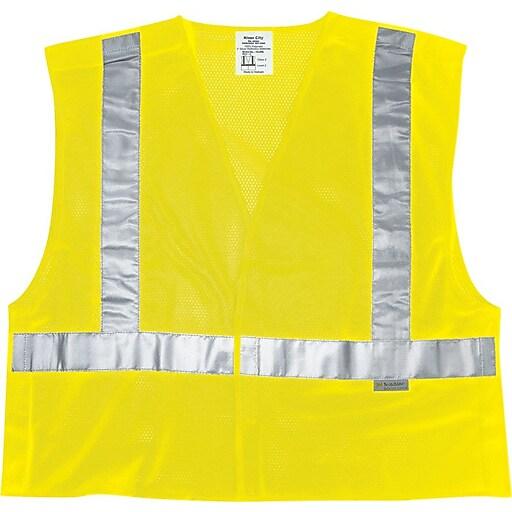 River City Luminator™ CL2ML Class II Tear-Away Safety Vest, Medium