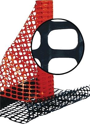 Resinet 4'(H) x 100'(L) Lightweight Oriented Snow Fence, Orange