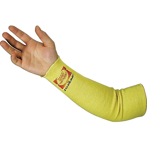 Wells Lamount Industrial SK-14 Yellow Kelvar Terrycloth Sleeve