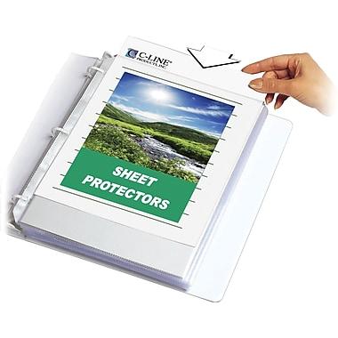 C-Line® Specialty Sheet Protectors
