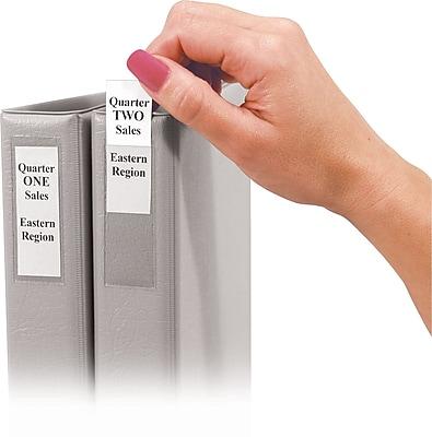 C-Line® Self-Adhesive Binder Label, 1/2